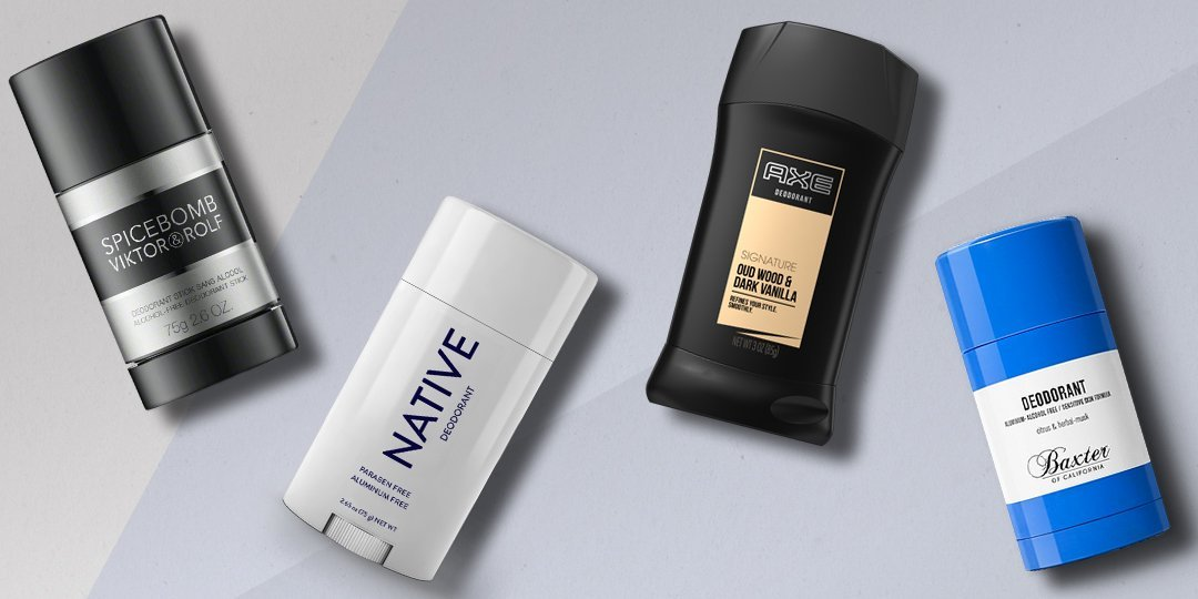 top rated men's deodorant